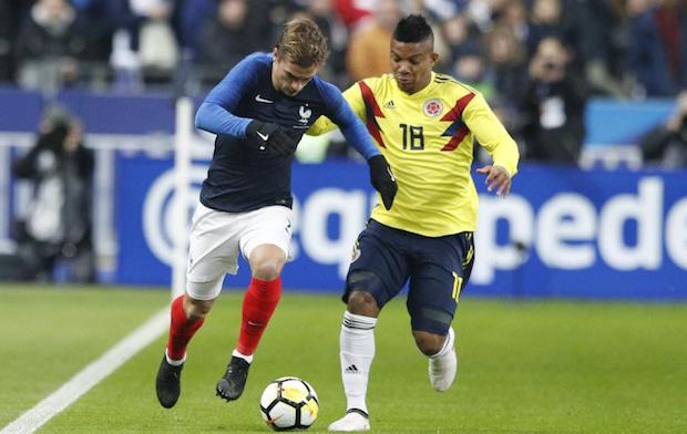 Griezmann et l'attaque de l'équipe de France n'ont pas démérité contre la Colombie