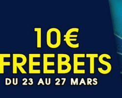 Obtenez 10€ de freebets lors des matchs France/Colombie et Russie/France avec NetBet