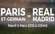 Misez sur PSG/Real Madrid en Ligue des Champions le 6 mars 2018 avec ParionsSport et profitez de 20€ offerts
