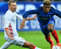 Notre prono sur le match de foot Russie/France