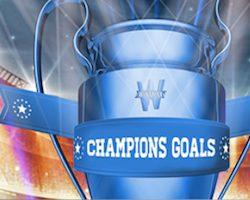 Champions Goals sur Winamax lors des 1/4 de finale de la LdC du 3 au 11 avril 2018