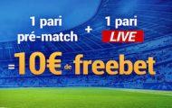 Quarts de finale aller de la LdC sur France Pari : 1 pari prématch et live placés = 10€ offerts du 2 au 4 avril 2018