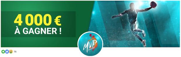 Challenge MVP spécial NBA sur Unibet du 14 avril au 1er mai 2018