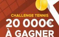 Misez sur le Grand Chelem de Roland Garros 2018 avec Betclic : 20.000€ mis en jeu à travers un Challenge tennis
