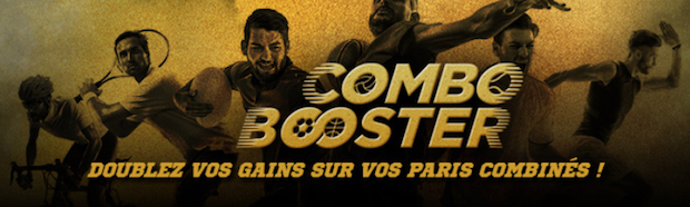 Offre Combo Booster sur Winamax Sport