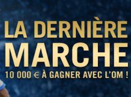 """Cagnotte de 10.000€ mis en jeu pour la finale de l'Europa League avec l'offre """"La dernière marche"""" de Winamax"""