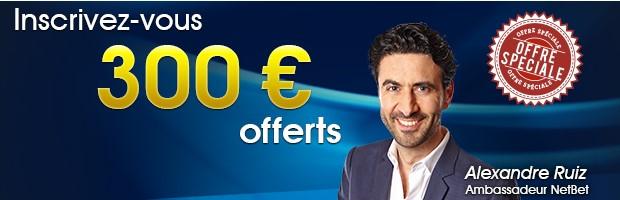 Ouvrez votre compte sur NetBet.fr
