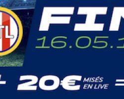 Gagnez 20€ lors de la finale de la Ligue Europa avec Parions Sport