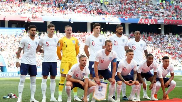L'Angleterre contre la Colombie en 1/8ème de finale de la coupe du monde 2018