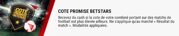PromoCote promise sur Betstars lors du Mondial 2018 de football