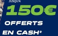 Code promo Parionsweb FDJ Sport : 150 euros cash offerts sur vos paris sportifs