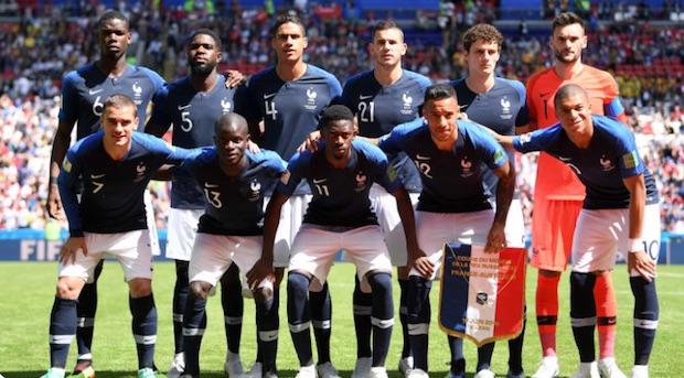 La France a commencé le Mondial 2018 par une victoire
