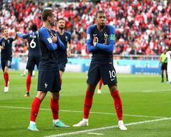 Huitièmes de finale du Mondial 2018 France/Argentine