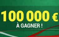 Coupe du Monde 2018 avec Unibet : 100.000€ dont 40.000€ cash à partager entre le 14 juin et le 15 juillet