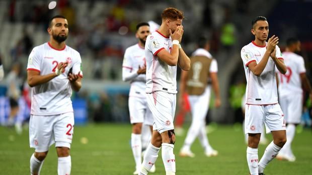tunisie les aigles de carthage contre Belgique