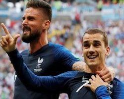 La France et l'Uruguay s'affronteront en 1/4 de finale du Mondial 2018
