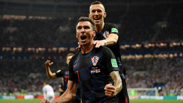 Les Croates éliminent l'Angleterre en demi-finale
