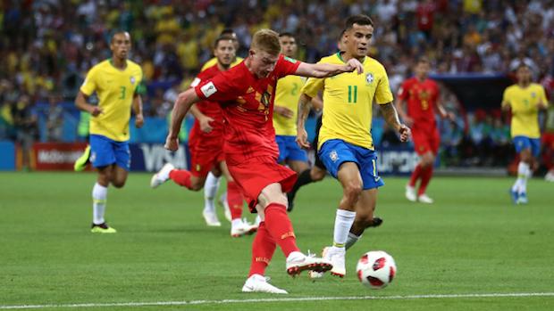 Le Belgique a parfaitement contenu le Brésil