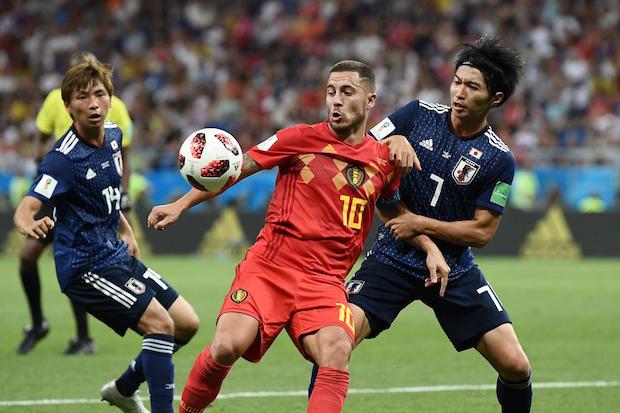 La Belgique comptera sur Hazard pour animer le front de l'attaque