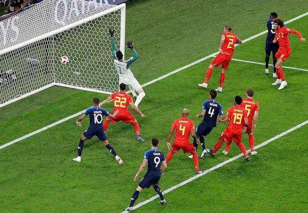 La France se qualifie pour la finale aux dépens des Diables Rouges