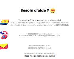 Joindre le service client de FDJ ParionsSport : formulaire de contact, Live Chat, téléphone, courrier