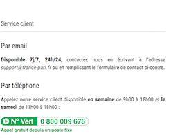 Posez vos question à la plateforme d'aide de France Pari