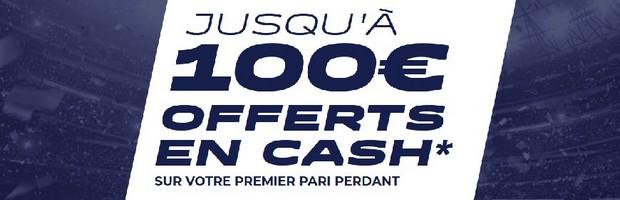 Bonus ParionsSport de 100 euros
