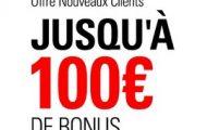 Code promotionnel Betstars : ouvrez un compte et obtenez jusqu'à 100€ de bienvenue