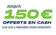 Code promo Parions web FDJ Sport : 150 euros cash offerts sur vos paris sportifs