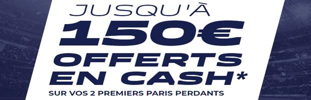Bonus ParionsSport de 150 euros