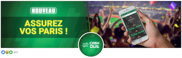 Cash Out sur les paris Unibet