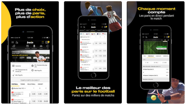 Application Bwin mobile