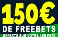 Bonus Netbet Sport : 155€ de paris sportifs offerts +1 grille VIP type loto foot avec le code promotionnel