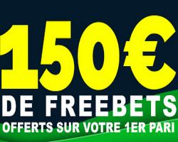 Profitez de 150 euros de freebets nur NetBet