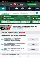 L'application mobile BetStars pour Android