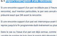 Match interrompu ou annulé sur Netbet : Les paris restent-ils valides ? Sont-ils remboursés ?