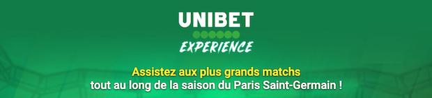 Unibet experience spécial PSG
