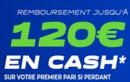 Code promo Parions web FDJ Sport : 120 euros cash offerts sur vos paris sportifs