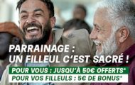 Offre de parrainage PMU : bonus de 10€ versé au parrain + 5€ au filleul en plus de l'offre de bienvenue