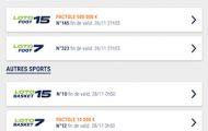 Grilles ParionsSport : faites votre Loto Foot en ligne et validez votre ticket en point de vente