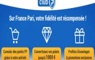 Le Club France Pari : remportez des points grâce à vos mises puis convertissez les en paris gratuits