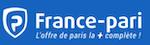 Faire un dépôt d'argent avec France Pari