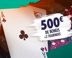Jusqu'à 500€ offerts sur Unibet Poker