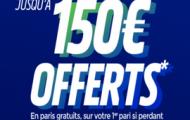 Code promo Parions web FDJ Sport : 150 euros offerts sur vos paris sportifs
