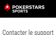 Joindre le service client PokerStars Sports : messagerie en direct, e-mail, formulaire ou encore courrier