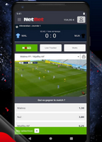 Nouvelle appli mobile Netbet android