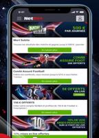 Netbet sport application mobiles et tablettes Iphone et Ipad Apple