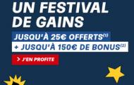 Bonus de bienvenue PMU Poker : 25€ offerts à l'inscription