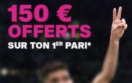 Offre de bienvenue Vbet sport : jusqu'à 150€ de bonus sur votre 1er pari s'il est perdant