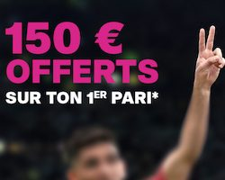 150€ de bonus vbet à l'inscription
